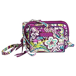 Plums Up Mickey Wristlet by Vera Bradley