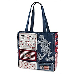 Mickey Mouse Patchwork Tote