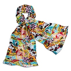 Disney Parks Classic Collage Scarf