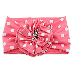 Minnie Mouse Polka Dot Headband for Girls