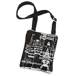 Walt Disney World Castle Canvas Letter Carrier Bag