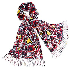 Minnie Mouse Paisley Scarf