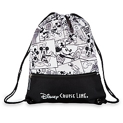 Mickey Mouse Comic Strip Cinch Sack - Disney Cruise Line