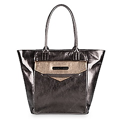 Kingdom Couture Collection Leather Tote