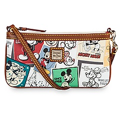 Mickey Thru the Years Large Slim Wristlet by Dooney & Bourke