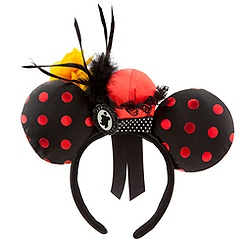 Minnie Mouse Ear Headband - Minnie Hat