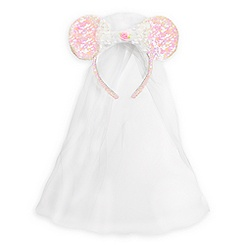 Minnie Mouse Ear Headband - Bride
