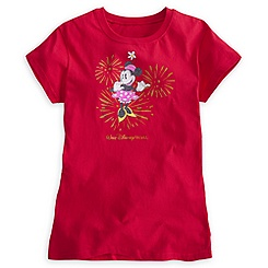 Minnie Mouse Glitter Tee for Women - Walt Disney World