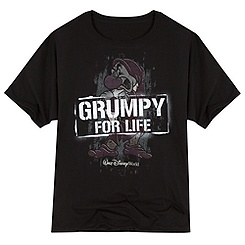 Grumpy for Life Tee for Adults - Walt Disney World