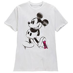 Bubble Gum Mickey Mouse Tee for Adults