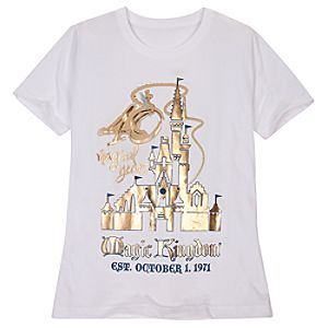 40 Magical Years Walt Disney World Tee for Women