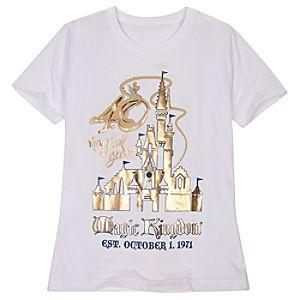 40 Magical Years Walt Disney World Tee for Women