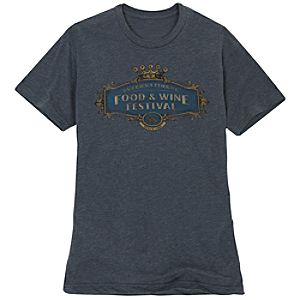 Royal Logo Epcot International Food and Wine Festival Tee for Adults