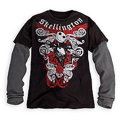 ack Skellington Tee for Men