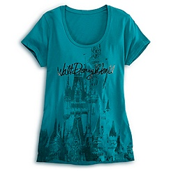 Cinderella Castle Tee for Women - Walt Disney World