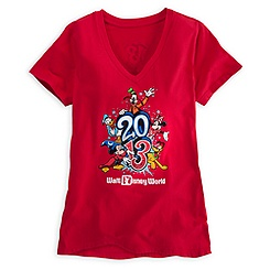 Sorcerer Mickey Mouse Tee for Women - Walt Disney World 2013