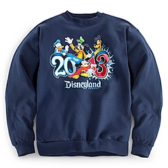 Sorcerer Mickey Mouse Sweatshirt for Adults - Disneyland 2013