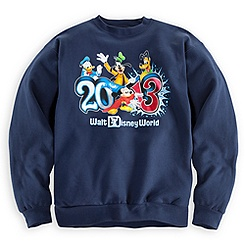 Sorcerer Mickey Mouse Sweatshirt for Adults - Walt Disney World 2013