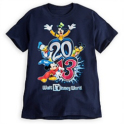 Sorcerer Mickey Mouse Tee for Adults - Walt Disney World 2013