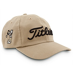 Mickey Mouse Titleist Golf Cap for Adults - Tan