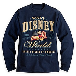 Mickey Mouse Long Sleeve Tee for Men - Walt Disney World