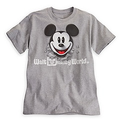 Mickey Mouse Peek-A-Boo Tee for Adults - Walt Disney World