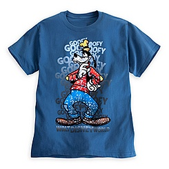 Goofy Letters Tee for Adults - Walt Disney World