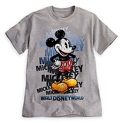 Mickey Mouse Letters Tee for Adults - Walt Disney World