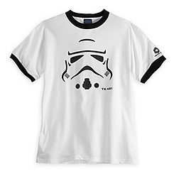 Stormtrooper Ringer Tee for Adults