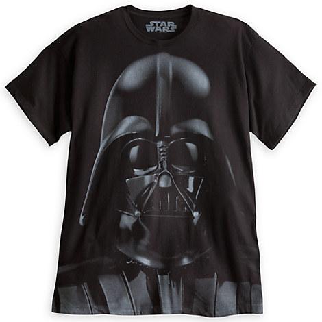 darth vader tee for adults tees tops shirts disney. Black Bedroom Furniture Sets. Home Design Ideas