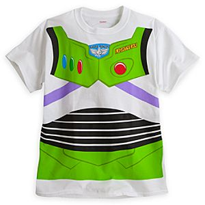 Buzz Lightyear Costume Tee for Adults