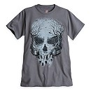 Hatbox Ghost Skull Tee for Men - The Haunted Mansion