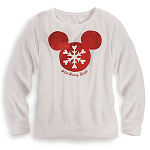 Mickey Mouse Icon Tee for Women - Walt Disney World - Holiday