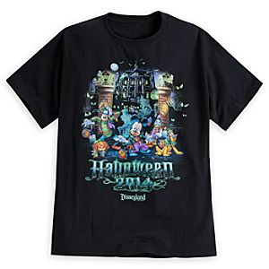 Mickey Mouse and Friends Tee for Adults - Disneyland - Halloween 2014