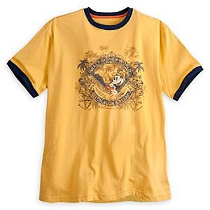 Mickey Mouse Ringer Tee for Men - Walt Disney World