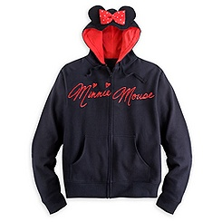 Minnie Mouse Hoodie with Ears for Women