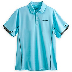 Walt Disney World Tour Performance Polo Shirt for Men by Nike Golf - Light Blue