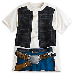 Han Solo Costume Tee for Adults