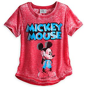 Mickey Mouse Fashion Tee for Women