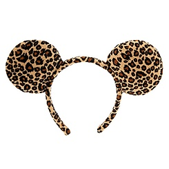 Minnie Mouse Ear Headband - Cheetah