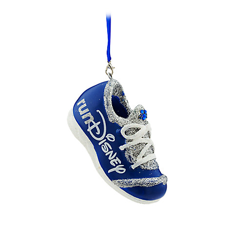runDisney Sneaker Ornament - Blue