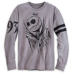 Jack Skellington Long Sleeve Tee for Men