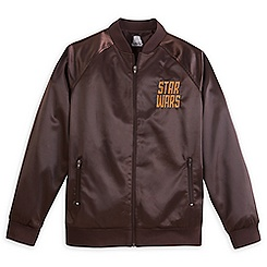 Star Wars Satin Baseball Jacket for Adults