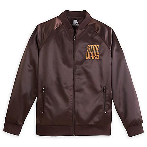 Star Wars Satin Baseball Jacket for Adults