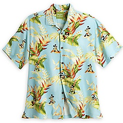 Mickey Mouse Aloha Shirt for Men by Tommy Bahama - Blue