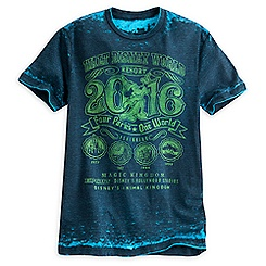 Walt Disney World 2016 Burnout Tee for Men