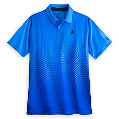 Mickey Mouse Blue Fade Performance Polo Shirt for Men by NikeGolf