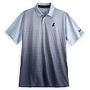 Mickey Mouse Gray Fade Performance Polo Shirt for Men by NikeGolf