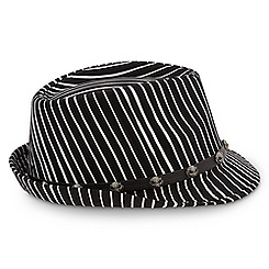 Jack Skellington Striped Fedora for Adults