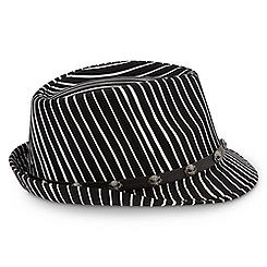 Jack Skellington Striped Fedora for Adults